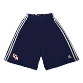 Adidas Climalite Navy Practice Short-Secondary Logo
