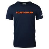 Adidas Navy Logo T Shirt-Coast Guard