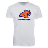 Next Level SoftStyle White T Shirt-Primary Logo