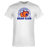 White T Shirt-Bear Club