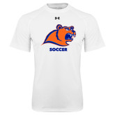Under Armour White Tech Tee-Soccer