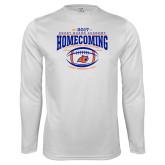 Performance White Longsleeve Shirt-2017 Homecoming