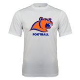 Syntrel Performance White Tee-Football
