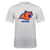 Syntrel Performance White Tee-Soccer