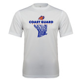 Syntrel Performance White Tee-Basketball Net