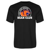 Performance Black Tee-Bear Club
