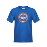Youth Royal T Shirt-Sailing Seal