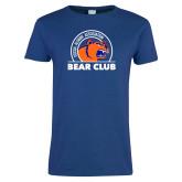 Ladies Royal T Shirt-Bear Club