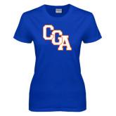 Ladies Royal T Shirt-Secondary Logo