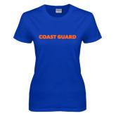 Ladies Royal T Shirt-Coast Guard