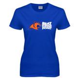 Ladies Royal T Shirt-Beat Kings Point