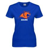 Ladies Royal T Shirt-Sailing
