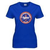Ladies Royal T Shirt-Sailing Seal