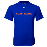 Under Armour Royal Tech Tee-Coast Guard