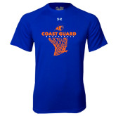 Under Armour Royal Tech Tee-Basketball Net