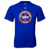 Under Armour Royal Tech Tee-Sailing Seal