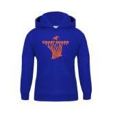 Youth Royal Fleece Hoodie-Basketball Net