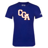 Adidas Royal Logo T Shirt-Secondary Logo