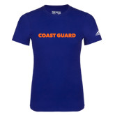 Adidas Royal Logo T Shirt-Coast Guard