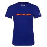 Adidas Royal Logo T Shirt-Coast Guard