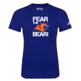 Adidas Royal Logo T Shirt-Fear the Bear