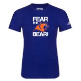 Adidas Royal Logo T Shirt-Fear the Bear