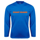 Performance Royal Longsleeve Shirt-Coast Guard