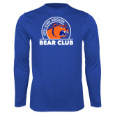 Performance Royal Longsleeve Shirt-Bear Club