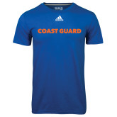 Adidas Climalite Royal Ultimate Performance Tee-Coast Guard