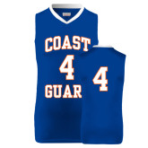 Replica Royal Adult Basketball Jersey-#4