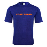 Performance Royal Heather Contender Tee-Coast Guard