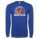 Royal Long Sleeve T Shirt-Bear Club