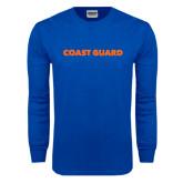 Royal Long Sleeve T Shirt-Coast Guard