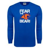 Royal Long Sleeve T Shirt-Fear the Bear