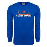 Royal Long Sleeve T Shirt-Football Field