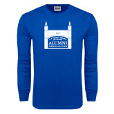 Royal Long Sleeve T Shirt-Coast Guard Academy Alumni Association