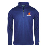 Russell Royal Heather 1/4 Zip-Primary Logo