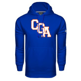 Under Armour Royal Performance Sweats Team Hoodie-Secondary Logo
