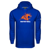Under Armour Royal Performance Sweats Team Hoodie-Basketball