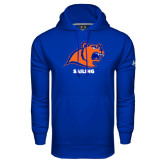 Under Armour Royal Performance Sweats Team Hoodie-Sailing