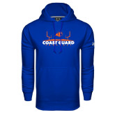 Under Armour Royal Performance Sweats Team Hoodie-Football Field