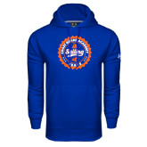Under Armour Royal Performance Sweats Team Hoodie-Sailing Seal