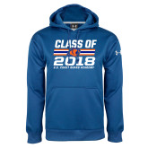 Under Armour Royal Performance Sweats Team Hoodie-Class Of - Stripes