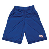 Russell Performance Royal 9 Inch Short w/Pockets-Secondary Logo