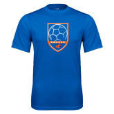 Syntrel Performance Royal Tee-Soccer Shield