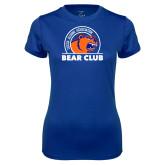 Ladies Syntrel Performance Royal Tee-Bear Club