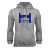 Grey Fleece Hoodie-Coast Guard Academy Alumni Association