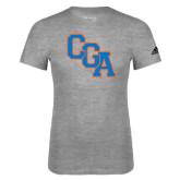 Adidas Sport Grey Logo T Shirt-Secondary Logo