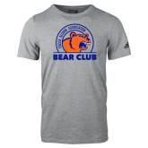 Adidas Sport Grey Logo T Shirt-Bear Club