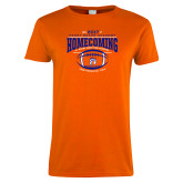 Ladies Orange T Shirt-2017 Homecoming